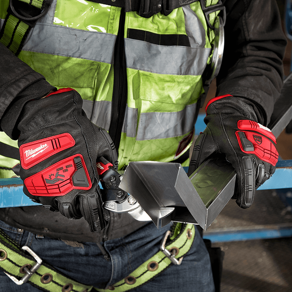 Impact Cut Level 5 Leather Gloves, , hi-res