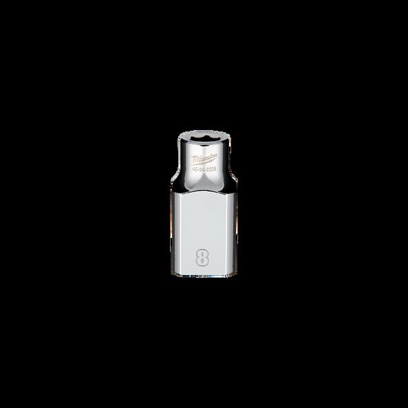 "1/2"" Drive 8mm Metric Standard 6-Point Socket, , hi-res"