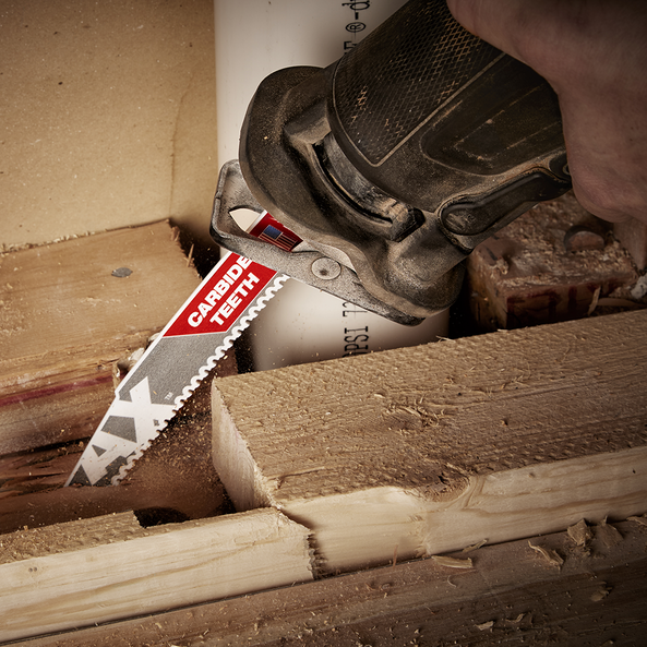 230mm 5TPI The AX™ with Carbide Teeth SAWZALL™ Blade