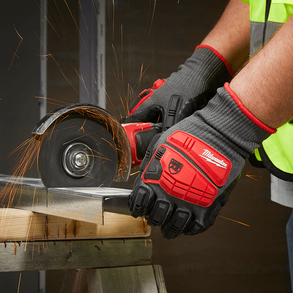 Impact Cut Level 5 Nitrile Dipped Gloves, , hi-res