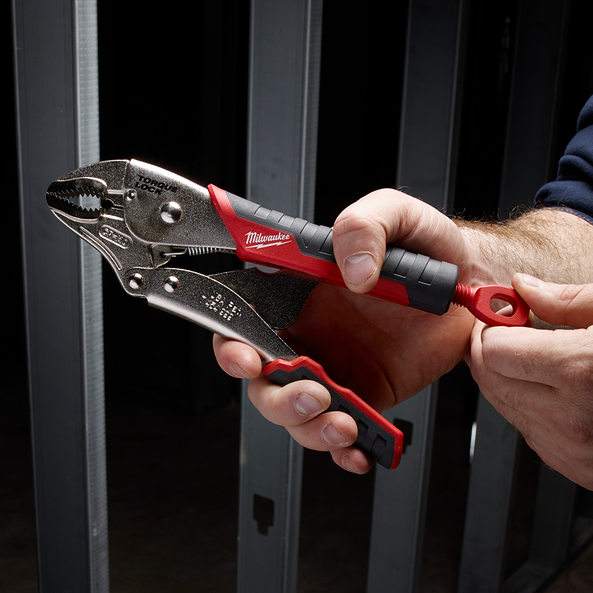 """254mm (10"""") Torque Lock™ Curved Jaw Locking Pliers with Durable Grip"""