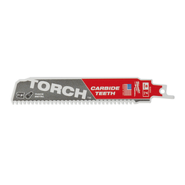 The TORCH™ with Carbide Teeth SAWZALL® Blade 150mm 7TPI