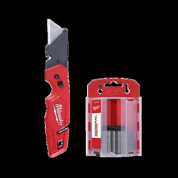 Fastback™ Folding Utility Knife and 50pk Blade Set, , hi-res