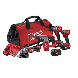 M18 FUEL™ 4 Piece Power Pack 4A2