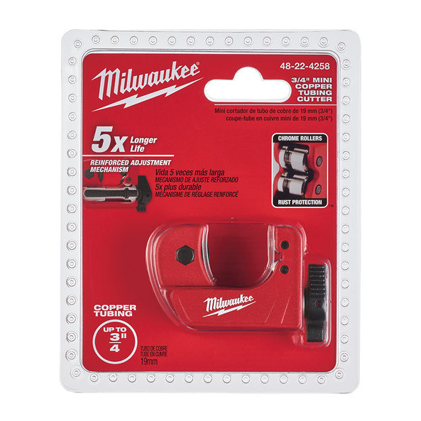 "Mini Copper Tubing Cutter 19mm (3/4"")"