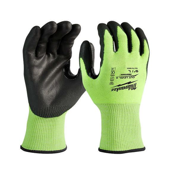 High-Visibility Cut Level 3 Glove, , hi-res