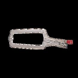 "457mm (18"") TORQUE LOCK™ Deep Reach C-Clamp Locking Pliers Swivel Jaw"