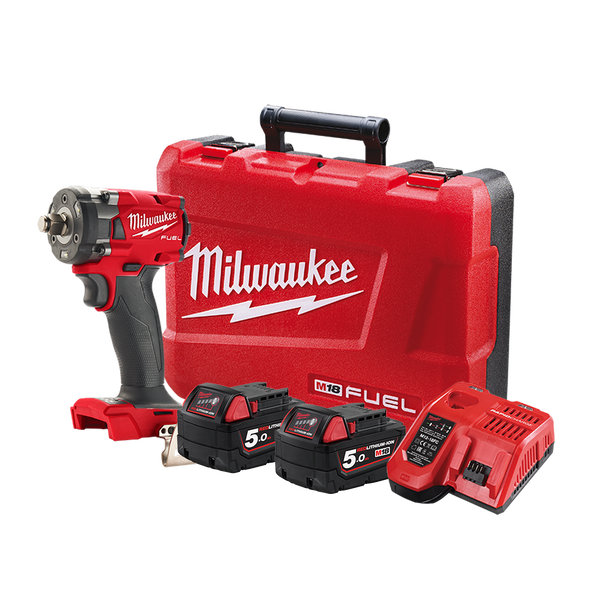 """M18 FUEL™ 1/2"""" Compact Impact Wrench with Friction Ring Kit, , hi-res"""