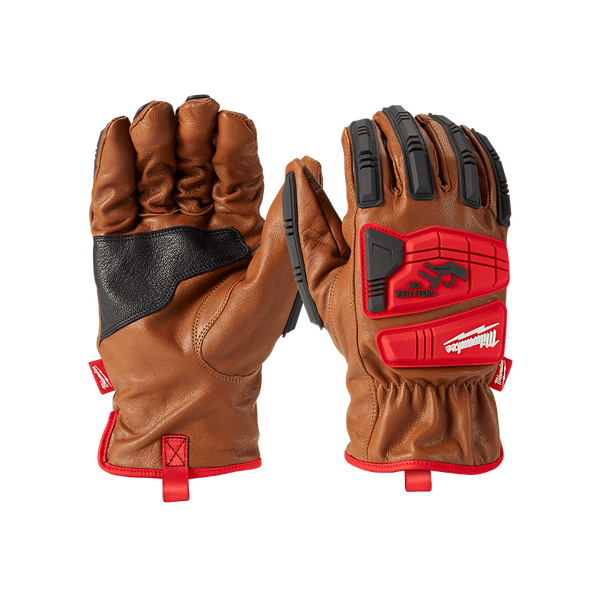 Impact Cut Level 3 Leather Gloves, , hi-res