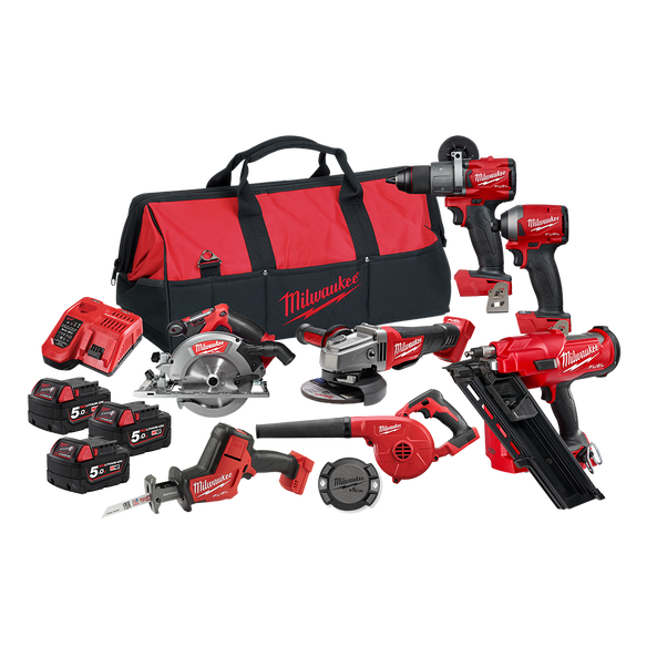 M18 FUEL™ 7 Piece Power Pack 7F2, , hi-res