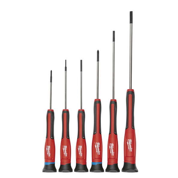 6Pc Precision Screwdriver Set w/ Case