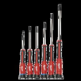 6Pc Precision Screwdriver Set w/ Case