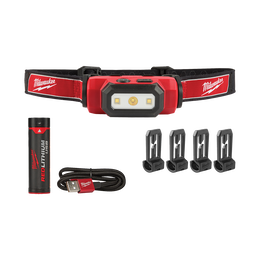 USB Rechargeable Hard Hat Headlamp Kit