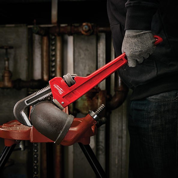"""457mm (18"""") Steel Pipe Wrench"""