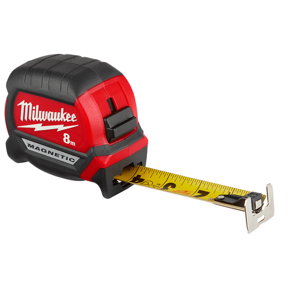 Compact Magnetic Tape Measure 8M
