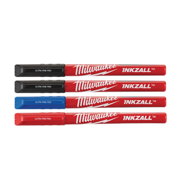 INKZALL™ Coloured Ultra Fine Point Pens (4 Pk)