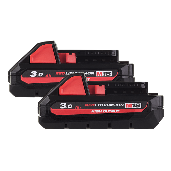 M18™ REDLITHIUM™-ION HIGH OUTPUT 3.0Ah Battery Twin Pack