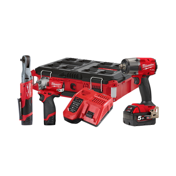 M18 FUEL™ 3 Piece Power Pack 3N2, , hi-res