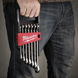 7pc Ratcheting Combination Wrench Set – Metric