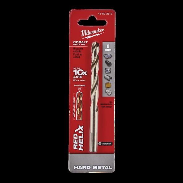 Red Helix™ Cobalt Drill Bit 8mm