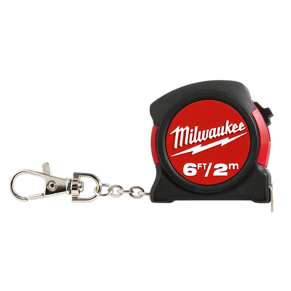 2M/6FT Keychain Tape Measure, , hi-res