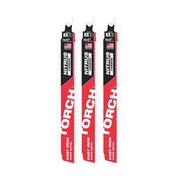 SAWZALL™ TORCH™ with NITRUS CARBIDE™ 230mm - 3 Pack