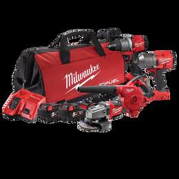 M18 FUEL™ 4 Piece Power Pack 4J2