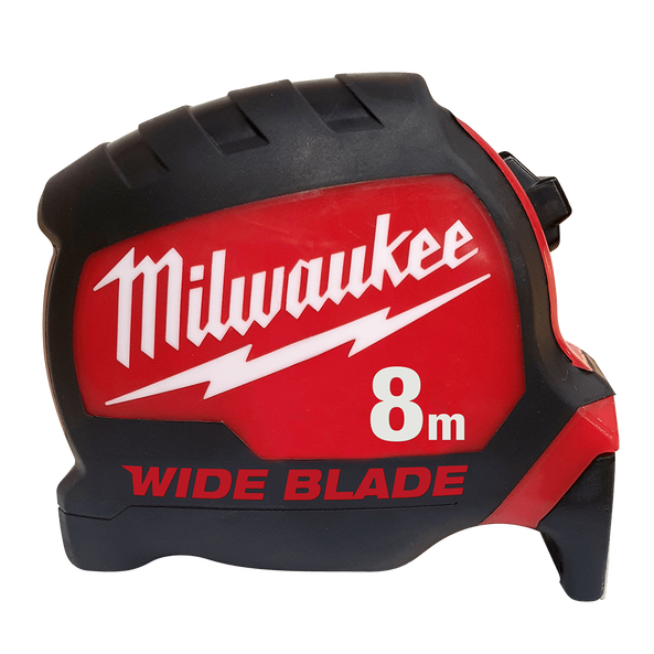 Wide Blade Tape Measure 8M