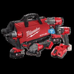 M18 FUEL™ 4 Piece Power Pack 4Q2