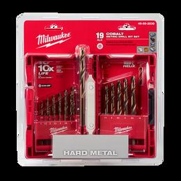 Red Helix™ Cobalt Drill Bit Set 19Pc
