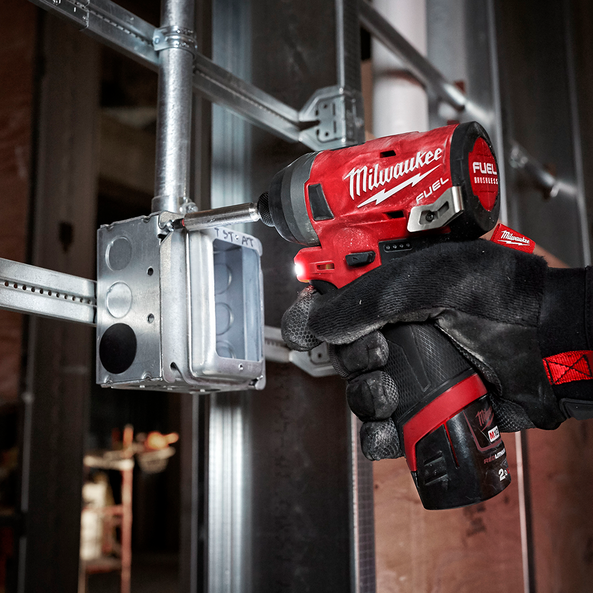 "M12 FUEL™ 1/4"" Hex Impact Driver Kit"