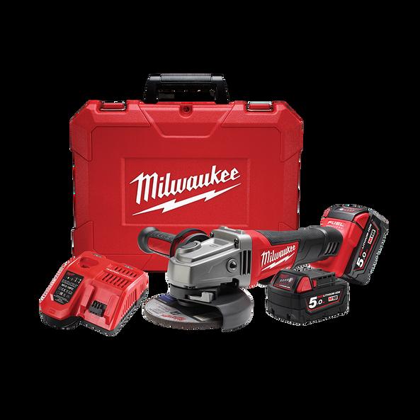 M18 Fuel 125mm 5 Angle Grinder Kit M18cag125xpd 502c Milwaukee Tool Australia