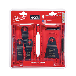 6PC Multi-Tool Blade Kit