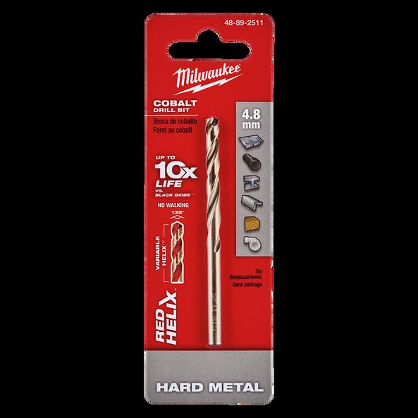 Red Helix™ Cobalt Drill Bit 4.8mm