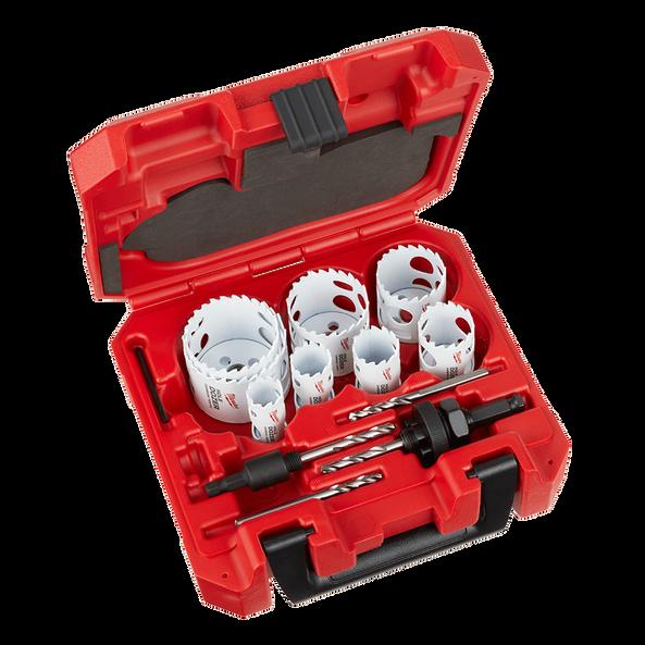 12 PC HOLE DOZER™ With Carbide Teeth Hole Saw Kit, , hi-res