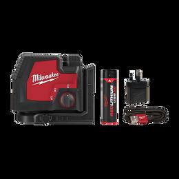 REDLITHIUM™ USB Rechargeable Cross+ 2 Plumb Laser Kit