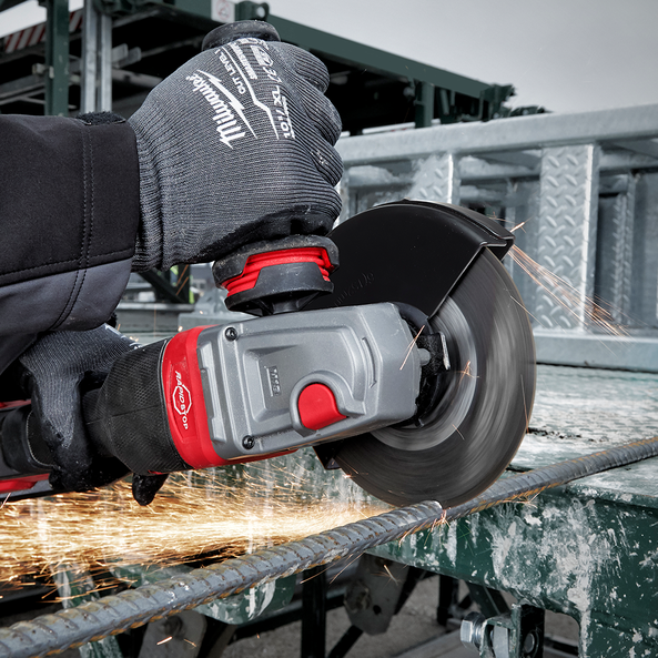 """M18 FUEL® 125mm (5"""") RAPID STOP™ Angle Grinder with Dead Man Paddle Switch"""