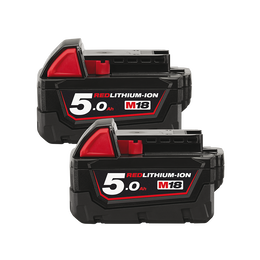 M18™ 5.0Ah REDLITHIUM™-ION Battery Pack - Dual Pack
