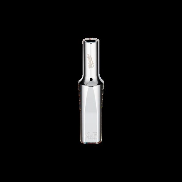 "1/4"" Drive 4.5mm Metric Deep 6-Point Socket, , hi-res"
