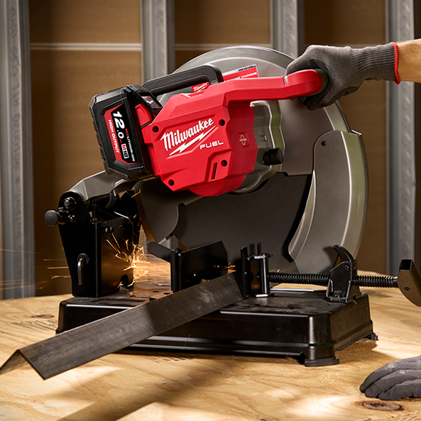 """M18 FUEL™ 355 mm (14"""") Abrasive Chop Saw (Tool Only), , hi-res"""