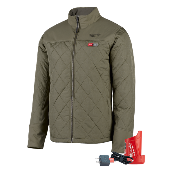M12 AXIS™ Heated Jacket Olive Green, , hi-res