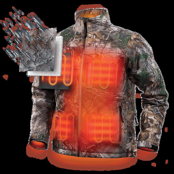 M12™ Heated Jacket Camo, , hi-res