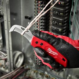 FASTBACK™ Blunt tip Hawkbill Folding Flip Knife