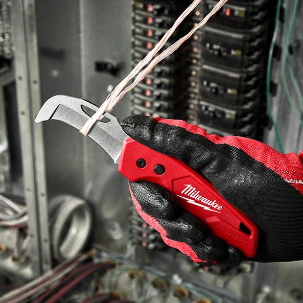 FASTBACK™ Blunt tip Hawkbill Folding Flip Knife, , hi-res
