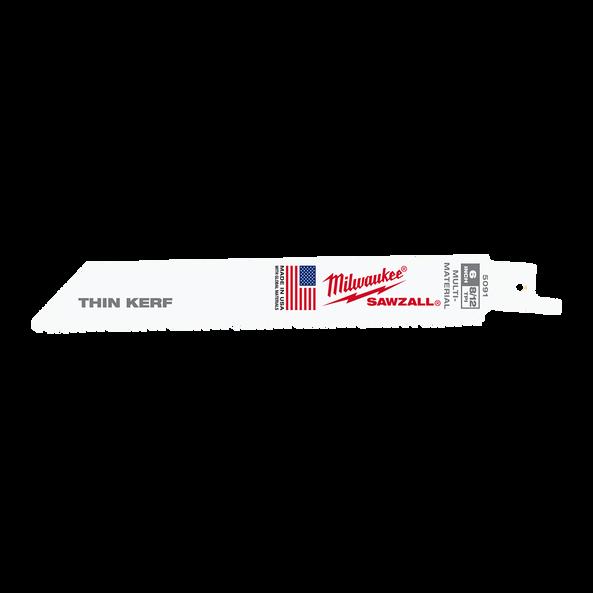 150mm 8/12 TPI SAWZALL™ Blades (5 Pk)