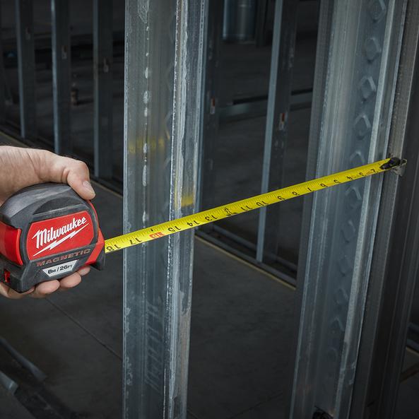 8m/26ft Magnetic Tape measure