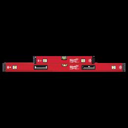 """600mm/1200mm (24""""/48"""") REDSTICK™ Magnetic Box Level Set"""