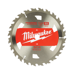 "184mm (7 1/4"") Basic Framing 24T Circular Saw Blade - Bulk 10"
