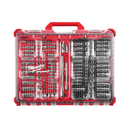 "1/4"" and 3/8"" Drive 106 Piece Metric and SAE Ratchet and Socket Set with PACKOUT™"