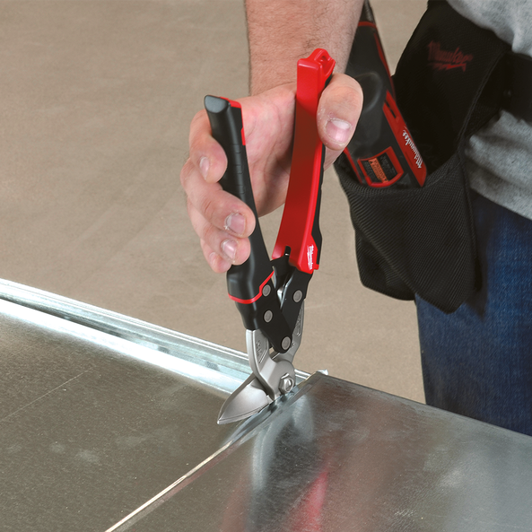 Left Cutting Right Angle Snips